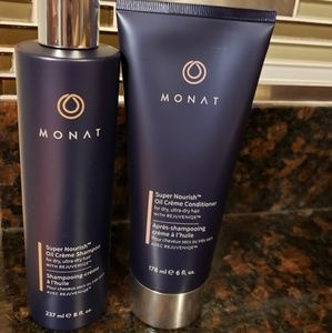 Monat (NEW) super nourish shampoo/condtioner